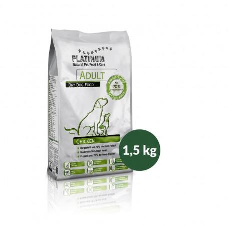 PLATINUM ADULT CHICKEN  1,5 KGR.