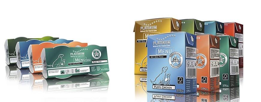 Platinum comida húmeda perros | Neonatural